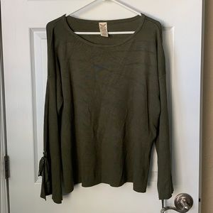 Olive green sweater xl
